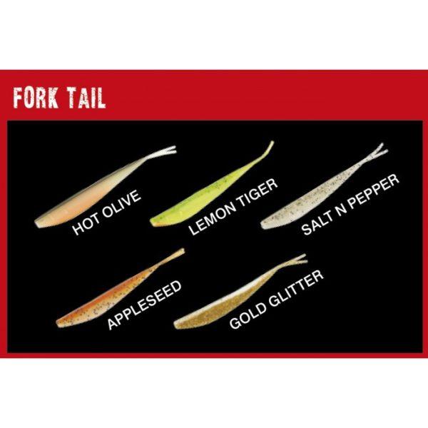 Fox Rage Fork Tail 13,5cm 4kpl