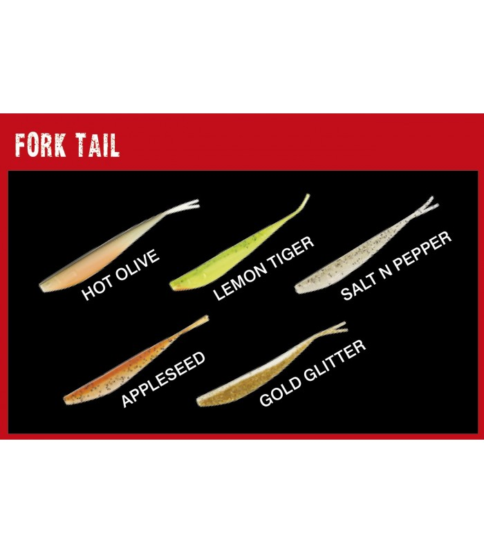 Fox Rage Fork Tail 13,5cm 4kpl
