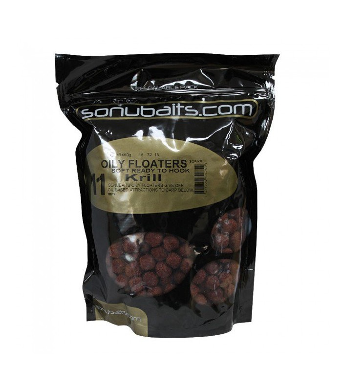 Sonubaits oily floaters krill