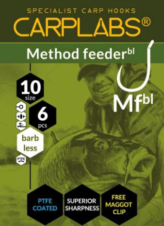 Carplabs method feeder barbless